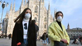 İtalya'da koronavirüs vakalarında düşüş eğilimi