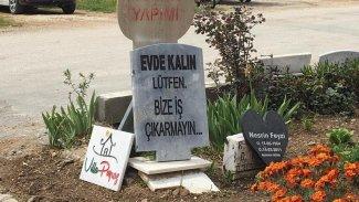 Mezar taşı ustasından 'koronavirüs' uyarısı: Evde kalın, bize iş çıkarmayın