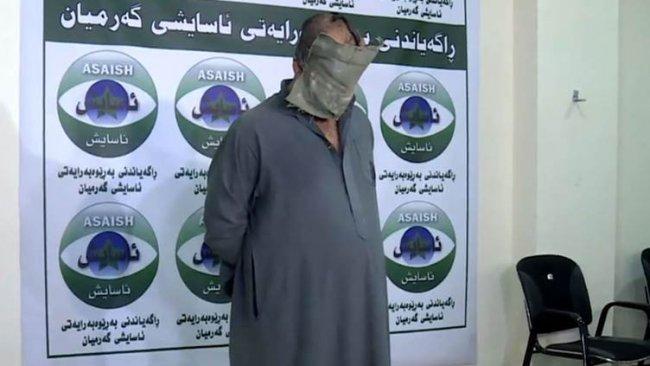 Peşmerge katili IŞİD emiri yakalandı