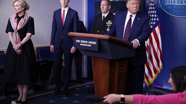 Trump'tan Koronavirüse karşı şal tavsiyesi