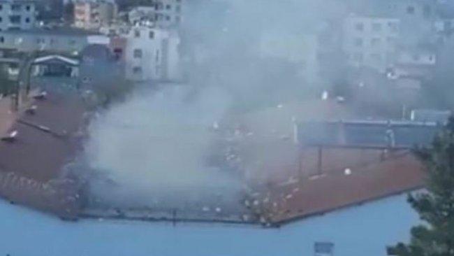 Batman'da cezaevinden dumanlar yükseldi: 'İsyan çıktı' iddiası