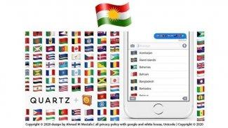 Koronavirüs sayfası, emoji yerine Kürdistan bayrağı paylaştı