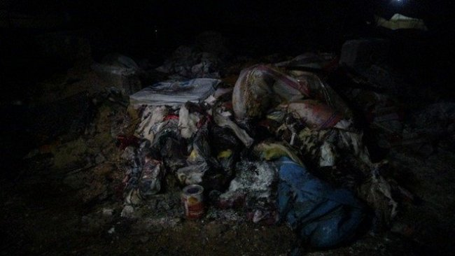 Newroz Kampında yangın: 4 çocuk hayatını kaybetti