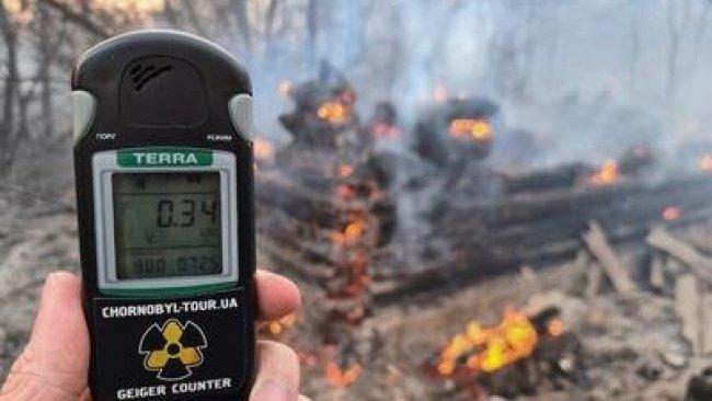 Çernobil'de yangın felaketi: Radyasyon seviyesi 16 kat arttı!