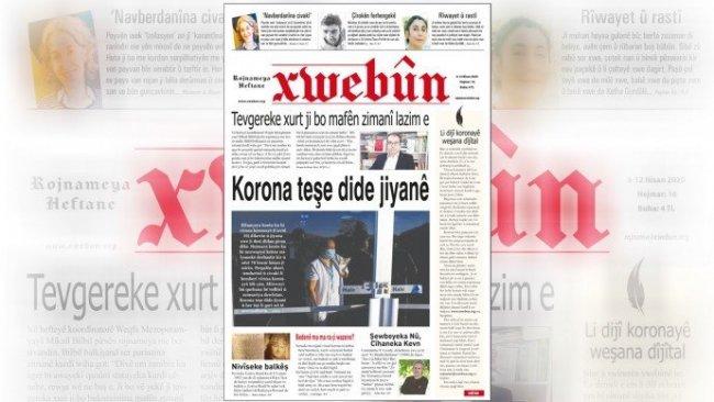 Xwebûn Gazetesi dijital yayına geçti