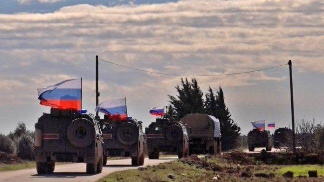 Rusya'nın Suriye'deki askeri hareketliliği
