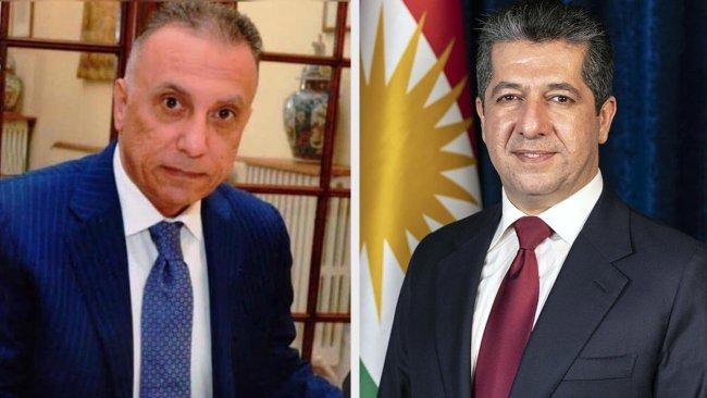 Başbakan Barzani'den Mustafa Kazimi'ye destek