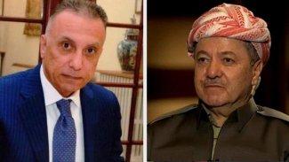 Başkan Barzani, Mustafa Kazımi ile telefonla görüştü