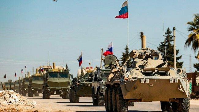 Rusya'dan Rojava'ya askeri sevkiyat