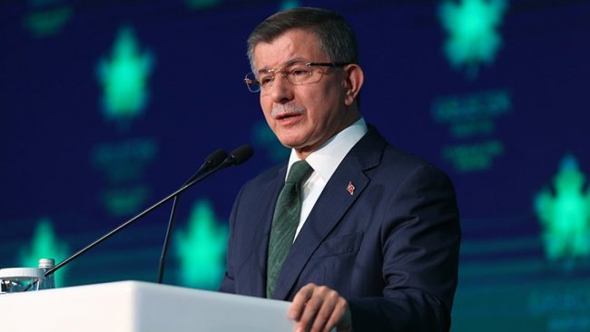 Davutoğlu'ndan 'gizli af' eleştirisi