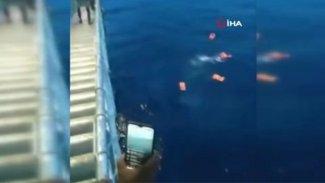 Mürettebatta virüs çıktı yolcular panikle denize atladı