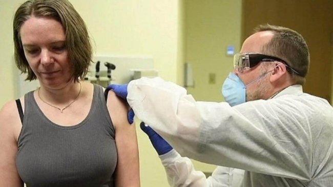 Koronavirüs aşısının ilk kez denendiği kadın konuştu