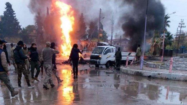 Serêkaniyê'de bombalı araç infilak etti: Ölü ve yaralılar var