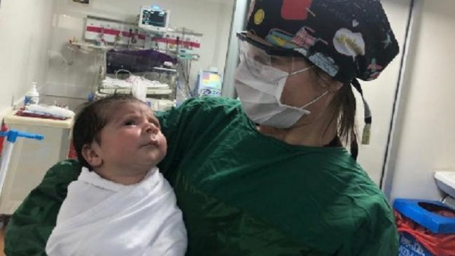 Batman'da koronavirüse yakalanan 1 aylık bebekten sevindiren haber