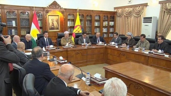KDP, Mesud Barzani başkanlığında toplandı