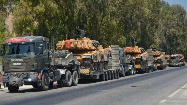 Türkiye'den İdlib'e askeri sevkiyat