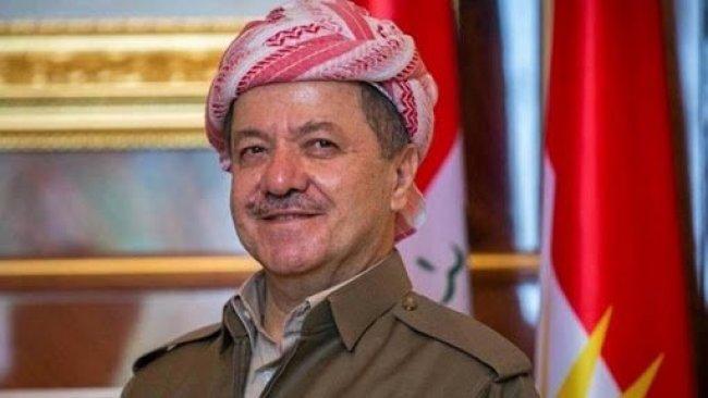 Başkan Barzani'den kutlama mesajı