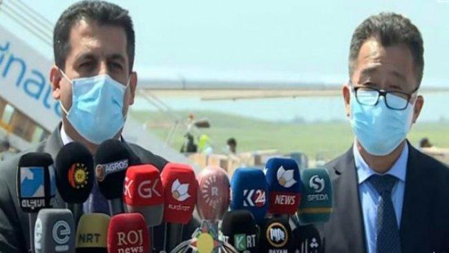 Çin'den Kürdistan'a dördüncü yardım kargosu ulaştı