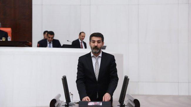 HDP'li Sarısaç, mezarların tahrip edilmesini TBMM'ye taşıdı