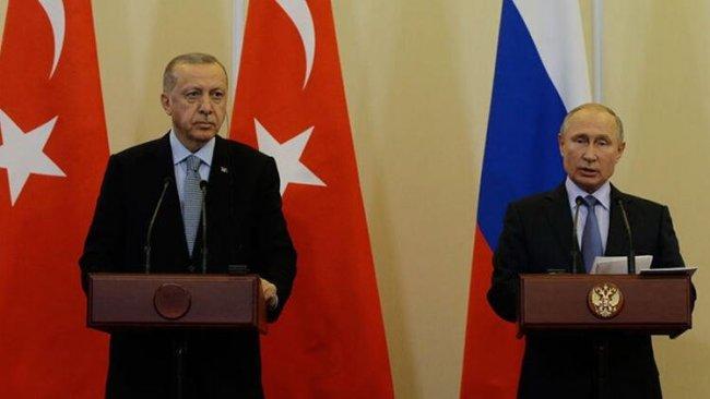 Erdoğan ile Putin telefonda görüştü...Kremlin'den açıklama