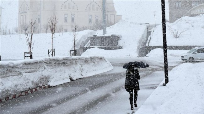 3 Kürt kenti için kar uyarısı