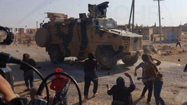 İdlib'de Türk-Rus devriyesi protesto edildi: 3 ölü