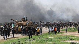 İdlib'e TSK ile HTŞ arasında çatışma!