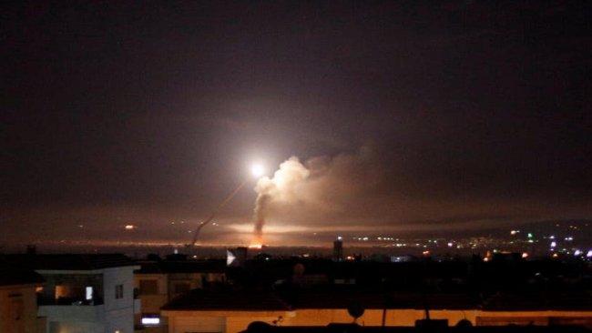 İsrail'den Suriye'ye hava saldırısı