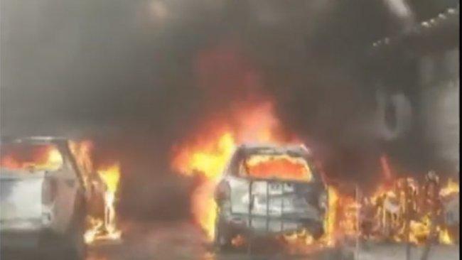 Efrin kent merkezinde patlama: Çok sayıda ölü ve yaralı var