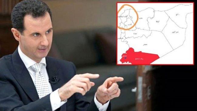 Esad, koronavirüs haritasında İskenderun'u da Suriye'ye dahil etti
