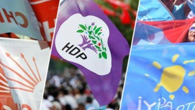 HDP, CHP ve İYİ Parti'den erken seçim hazırlığı: 'Erdoğan'ın aklında bir plan var'
