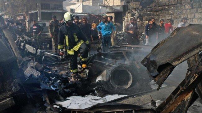 MSD'den Efrin'deki patlamaya ilişkin açıklama