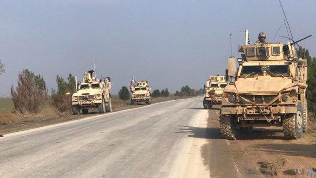 Kamışlo'da Rus askerlerinden ABD konvoyuna misilleme