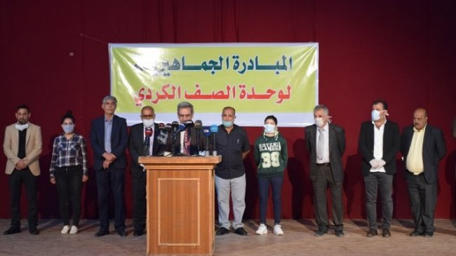 Rojava'da 'Kürtlerin birliği için ulusal inisiyatif' grubu kuruldu