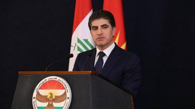 Başkan Neçirvan Barzani'den taziye mesajı