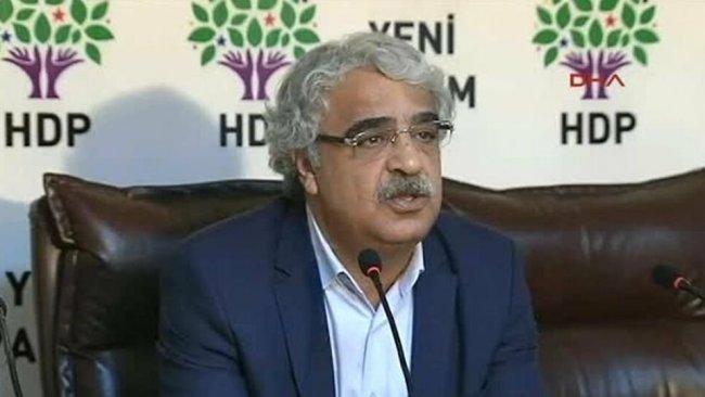 Sancar: HDP'yi dışlayanlar AKP ile ittifak arıyor