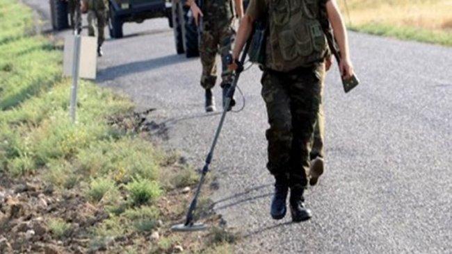 Siirt'te mayına basan asker hayatını kaybetti