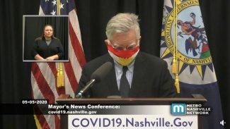 ABD'li belediye başkanından Kürdistan bayraklı maske