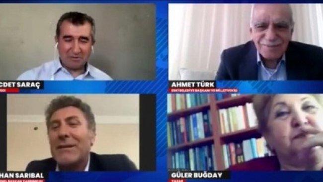 Ahmet Türk ile CHP'li Sarıbal birlikte kürtçe şarkı söylediler