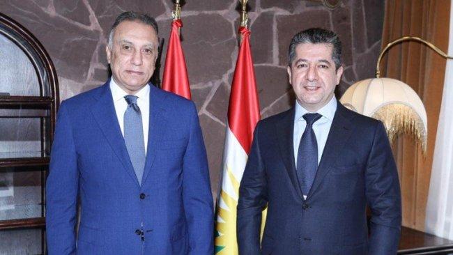 Başbakan Barzani'den Kazimi'ye tebrik
