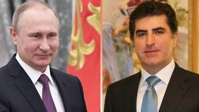 Kürdistan Bölgesi Başkanı'ndan Putin'e mesaj