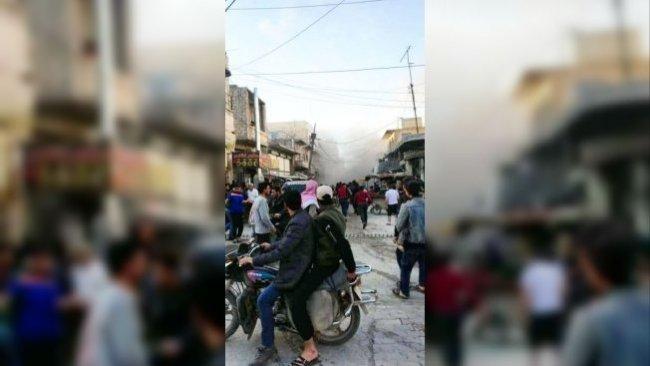 Halep'de patlama