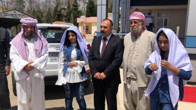 IŞİD'in kaçırdığı iki Ezidi kız 6 yıl sonra ailelerine kavuştu