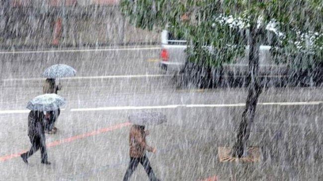 2 Kürt iline yağış uyarısı