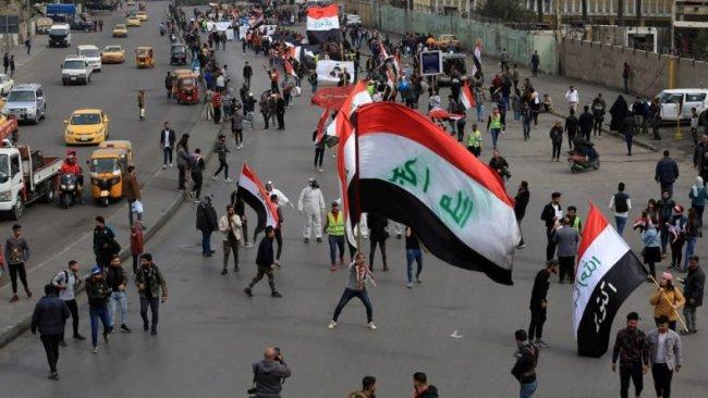 Irak'ta yeniden başlıyan gösterilerde 1 kişi hayatını kaybetti