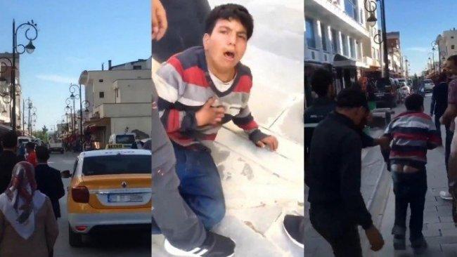 Diyarbakır'da zabıtalar karton toplayan çocuğu darp etti