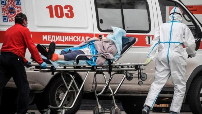 Rusya Kovid-19'un en çok yayıldığı ikinci ülke oldu