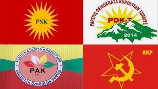 400 isimden 'Kürdistan' isimli partilerin kapatılmasına karşı ortak bildiri