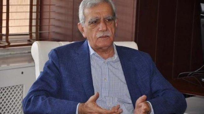 Ahmet Türk: 'HDP, PKK demek' 6 milyon insanın düşüncelerine ters düşmektir