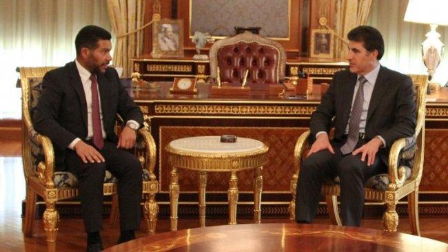 Başkan Neçirvan Barzani Irak Ulusal Projesi Genel Sekreteri'yle görüştü